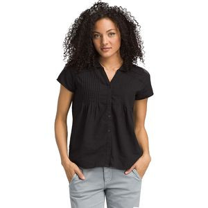 Katya Short-Sleeve Shirt - Women's Black, S - Excellent