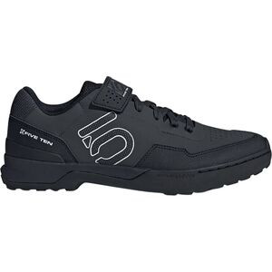 Kestrel Lace-Up Cycling Shoe - Men's Carbon/Black/Clear Grey, 10.0 - Good