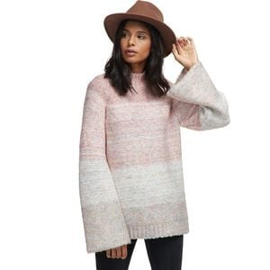 Chunky Knit Spacedye Sweater - Women's Pink Multi, M - Excellent