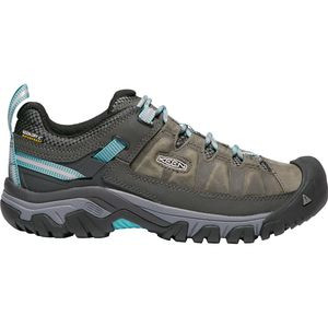 Targhee III Waterproof Hiking Shoe - Women's Alcatraz/Blue Turquoise, 6.0 - Good