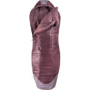 x NEMO Chigu Sleeping Bag: 20F Synthetic - Women's Peppercorn, Regular - Excellent