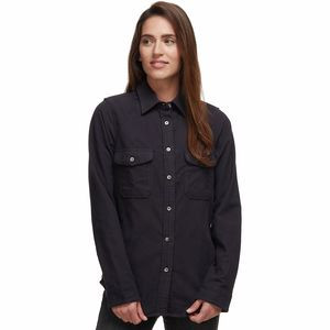 Moleskin Shirt - Women's Navy,L - Excellent