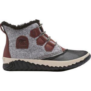 Out N About Plus Felt Boot - Women's Redwood, 10.5 - Good