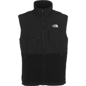 Denali Fleece Vest - Men's Recycled Tnf Black/Tnf Black, M - Excellent