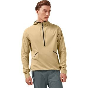 Waterproof Anorak Jacket - Men's Camel, L - Excellent