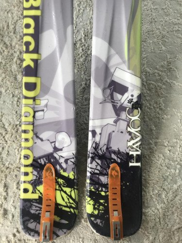 Black Diamond Havoc 175cm w/ 22D Hammerhead Bindings