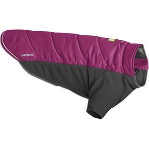Powder Hound Hybrid Insulated Dog Jacket Larkspur Purple, XL - Excellent
