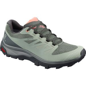 Outline GTX Hiking Shoe - Women's Shadow/Urban Chic/Coral Almond, US 9.5/UK 8.0 - Excellent