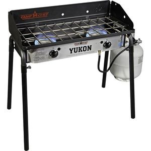 Yukon 2 Burner Stove One Color, One Size - Excellent