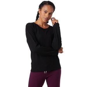 Super Soft Crew Sweatshirt - Women's Black, XS - Excellent