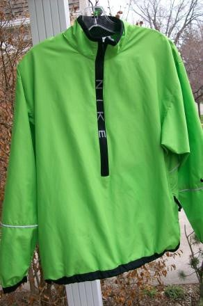 Nike Vented Windshirt with reflective strips
