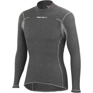 Flanders Warm Long-Sleeve Baselayer - Men's Grey, M - Excellent