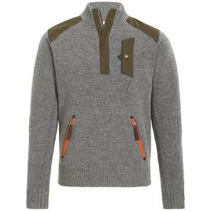 Alpine Guide Sweater - Men's Heather Grey, M - Excellent