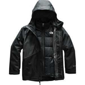 Clement Triclimate Jacket - Boys' Tnf Black,XL - Excellent