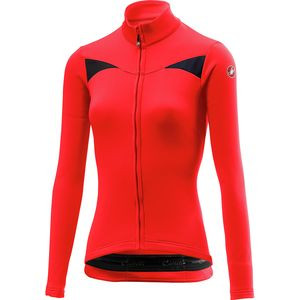 Sinergia Full-Zip Long-Sleeve Jersey - Women's Red, XS - Excellent