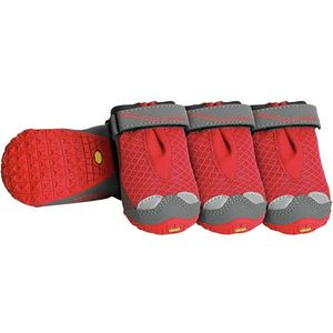 Bark'n Boots Grip Trex - Set of 4 Red Currant, S - Fair
