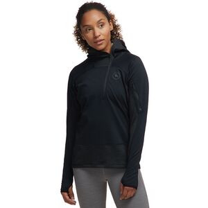 Hybrid Grid Fleece Pullover - Women's Pirate Black, S - Fair