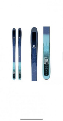 New Women's 2018 Salomon All Mountain QST Skis With Bindings