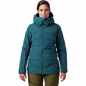 Direct North GTX Windstopper Down Jacket - Women's Dive, S - Like New