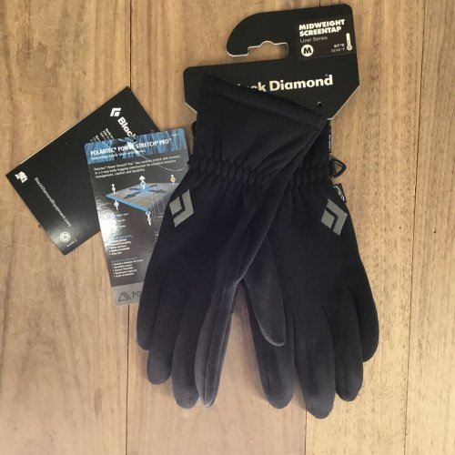 Black Diamond Midweight Screentap Glove Liners