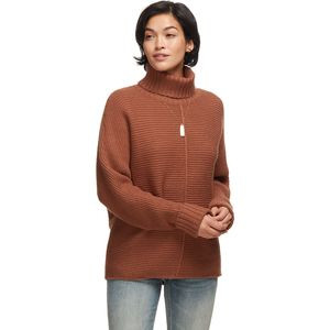 Cozy Seedstitch Sweater - Women's  Hot Chocolate, M - Excellent