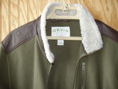 ORVIS Fleece Jacket Size Large