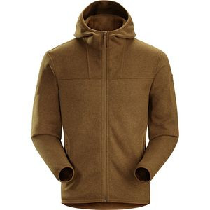 Covert Fleece Hooded Jacket - Men's Caribou, XL - Excellent