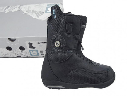 NEW! RARE $330 Burton Supreme Snowboard Boots! US 6 UK 4 Euro 36.5