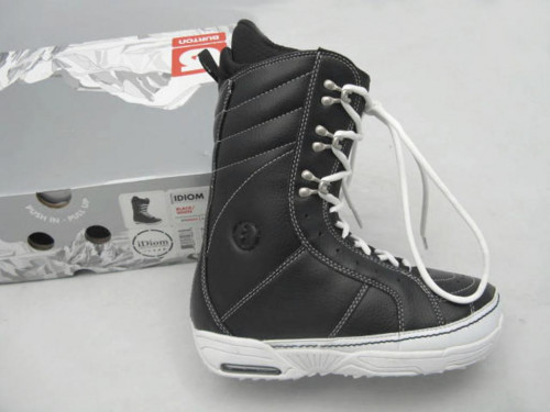NEW! $300 Burton Idiom Snowboard Boots!  US 7.5 UK 6.5 Mondo 25.5