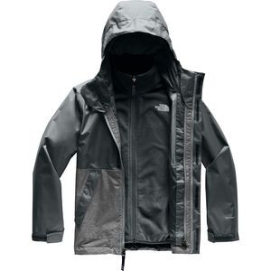 Vortex Triclimate Jacket - Boys' Asphalt Grey, S - Excellent