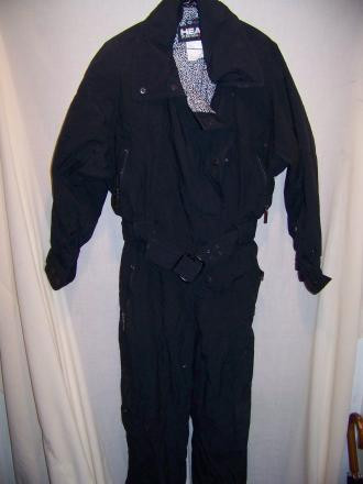 Head Insulated Snow Ski One Piece Suit, WM Medium
