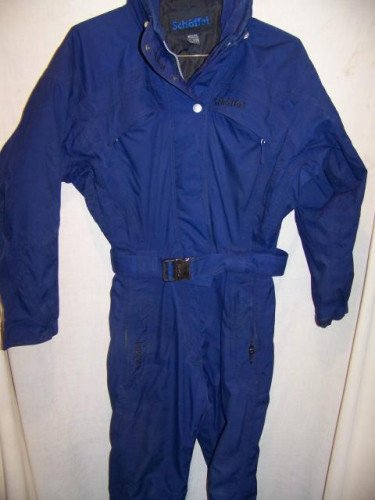Schoffel Two Piece Ski Suit Onesie, Womens 8