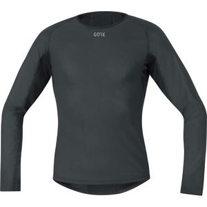 Windstopper Base Layer Thermo Long-Sleeve Shirt - Men's Black, M - Excellent