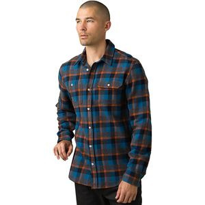 Hatcher Slim Flannel Shirt - Men's Admiral Blue, XL - Excellent