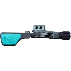 Loam Lever Grey/Teal, I-Spec EV, 1x Lever - Excellent
