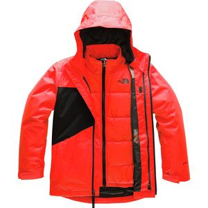 Clement Triclimate Jacket - Boys' Fiery Red,M - Excellent
