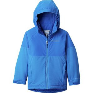 Alpine Action II Jacket - Boys' Super Blue Heather/Super Blue, M - Good
