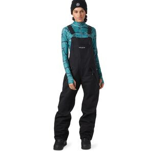 Freedom Bib Pant - Women's Black, XS - Good