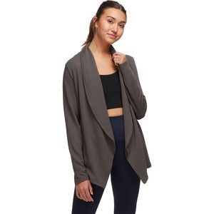 Plush Wrap Cardigan - Women's Raven, S - Good