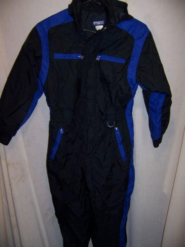 Apparatus Insulated One Piece Snow Ski Suit, Youth 14