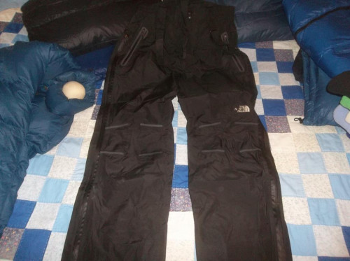 The North Face Kitchatna Gore-tex Pro Shell Pants Side Zips NICE TNF