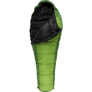 Crescent Lake Sleeping Bag: 20F Synthetic Kiwi/Green, Long - Good