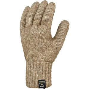 Bison Leather Palm Glove - Men's Brown,S - Excellent