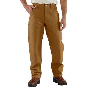 Firm Double-Front Work Dungaree Pant - Men's Carhartt Brown, 28x30 - Good