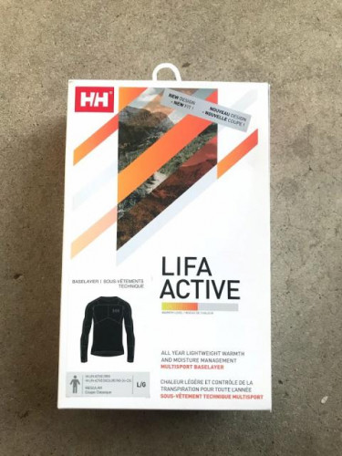 Helly Hansen Lifa Active Light Long-Sleeve Shirt - Men's - Brand New