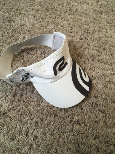 Roadrunner Visor, white, OS