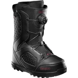 STW BOA Snowboard Boot - Women's Black, 6.0 - Excellent
