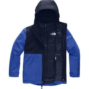 Fresh Tracks Triclimate Jacket - Boys' Tnf Blue,M - Excellent