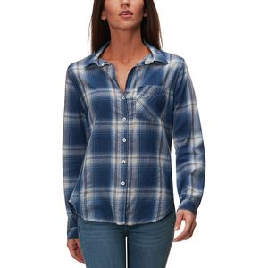 Tencel 1 Pocket Shirt - Women's Cali Plaid/Indigo, M - Excellent