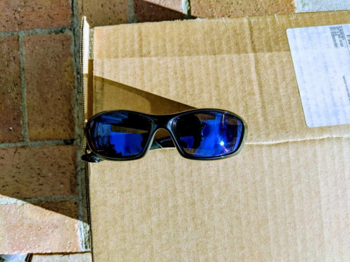 Oakley Straight Jacket Ice Iridium Non-polarized Sunglasses